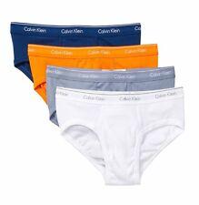 NWT Calvin Klein. Sz M. Men's 4 Pack, Low-Rise Briefs, Multi-Color, MSRP $39.50.
