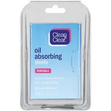 Clean & Clear Instant Oil-Absorbing Sheets, 50 Ct