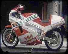 Bimota Yb4 88 3 A4 Metal Sign Motorbike Vintage Aged