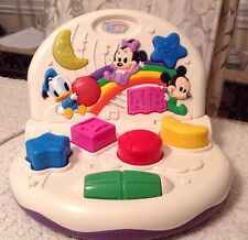 Disney Babies Activity Center - Htf, Music & Lights, Shapes, 3 Characters