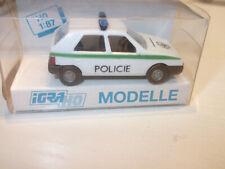 IGRA/Rietze 626  Polizei Policie Skoda Favorit Ceske Republiky mit OVP 1:87 HO