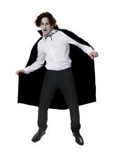 """57"""" Dracula / Vampire Long Cape Cloak Mens Halloween Fancy Dress P7879"""