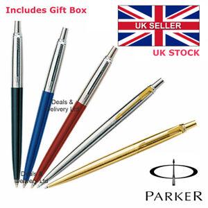 PARKER JOTTER BALLPOINT PEN BLACK, BLUE, RED, SILVER GOLD Or Ball Pen Refill
