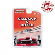 1976 Ford Gran Torino Chrome Red Edition Starsky and Hutch (1975-1979) TV 1/64
