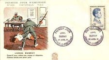 LETTRE PREMIER JOUR LIONEL DUBRAY JOINVILLE LE PONT 1961