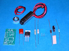 150mW 405nm High Power Blu-ray Blue-Violet Laser Diode Module w/ driver Kit