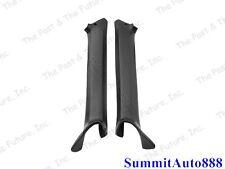 1968 68 Chevy Camaro & Firebird Pillar Post Molding Black Pair 2PCS CAMG68-4