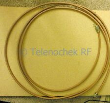 "Thermax CDT  M17/127-RG393 MIL-C17G, UHF-M, 100"", 300 MHz PL-259 rugged RF cable"