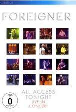 FOREIGNER All Access Cette nuit-Live in Concert, dvd/2009/all région/Nouveau Neuf dans sa boîte