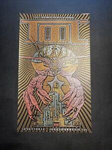 TOOL Band Concert Poster Hamburg, Germany 06-06-2006 Ron Donovan /300 🔥🔥🔥