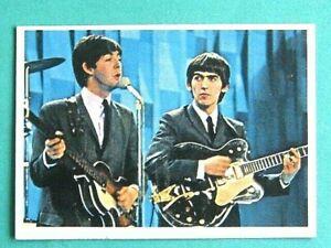 TOPPS (USA) 1964. THE BEATLES DIARY TRADING CARD # 36A. JOHN, PAUL,GEORGE,RINGO
