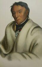 Plate No 81 META-KOOSEGA, 1872 Octavo McKenney & Hall History of Indian Tribes