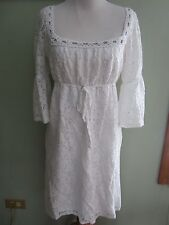 Laundry by Design White Lace Dress Cover Up Size S