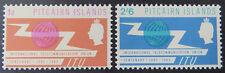 1965 Pitcairn Islands Pre Decimal: Centenary Int'l Telecommunication - Set 2 MNH