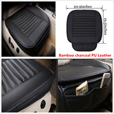Bamboo Charcoal PU Car Seat Mat Cover Breathable Seat Protect Pad Full Surround
