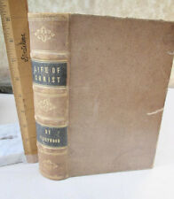 LIFE Of CHRIST & HISTORY Of THE JEWS,1847,Rev. John Fleetwood,Illustrated