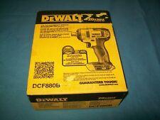 """NEW Dewalt DCF880B 20 V Max Lithium Ion 1/2"""" Impact Wrench w Detent Pin NIB"""