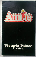 ANNIE.THOMAS MEEHAN.VICTORIA PALACE PROGRAMME 78.CHARLES WEST.PATRICIA MICHAEL