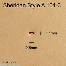 Punziereisen Sheridan Style A 101-3 - Background - Craft Japan