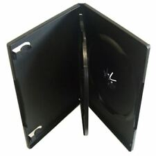 5 x 3 Way DVD CD Multicase Valigetta di Plastica Trasparente Manica Triplo Custodia per DVD