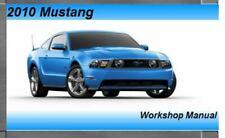 2010 Ford Mustang Service Repair Workshop Manual DVD