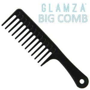 Massive Jumbo Wide Tooth Detangler Big Huge Comb Handle Afro Hair Basin Brush
