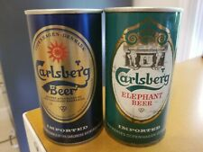 Carlsberg Beer Cans - 2 Variations, Denmark - @ Vintage! Non-Us 355 ml