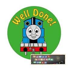 School Teacher Reward Stickers 48 30mm non personalised Well Done Merit