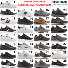 ENRICO COVERI Sneaker Scarpe Sportive Casual Uomo stile Adidas Nike Puma Reebok