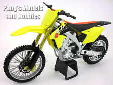 Suzuki RM-Z450 Dirt/Motocross 1/12 Scale Motorcycle Model by NewRay