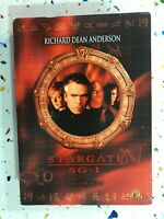 Stargate Sg 1 Quarta 4° Stagione 4 Richard Poll Anderson 6 X DVD Esp Ing Ale 3T