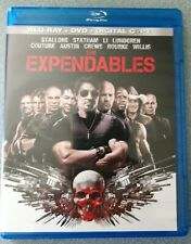 EXPENDABLES (Blu-ray/DVD, 2010, 3-Disc Set) - Stallone, Willis, Statham
