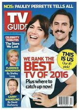2016 TV Guide Best TV of 2016 This is Us Mandy Moore Milo Ventimglia Cover!