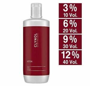 Clynol Viton Cream Peroxide 1000 ML Developer Activator Oxide 3% 6% 9% 12%