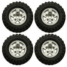 """1/10 RC 1.9"""" Alloy Felgen Räder W/ Reifen Tires 108mm set für Axial SCX10 D90"""