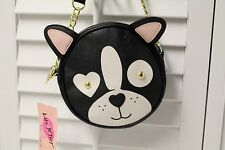 LUV BETSEY JOHNSON ROCKET DOG CROSS BODY BAG CANTEEN NEW WITH TAG AUTHENTIC