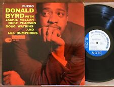 DONALD BYRD-FUEGO LP-BLUE NOTE-BLP 4026-MONO-NY-EAR-47 W 63RD-DG-60 ORIG-RARE!!