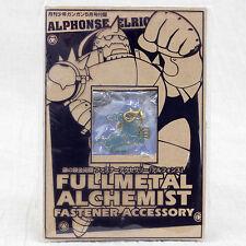 FullMetal Alchemist Alphonse Elric Mascot Fastener Accessory Japan Anime