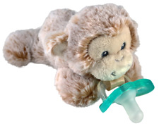 RaZ-Buddy Monkey - Plush Pacifier DUMMY HOLDER + FREE Jollypop