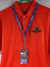 2005 Indianapolis 500 Silver Pit Badge Lanyard Pit Garage Hard Card Credential