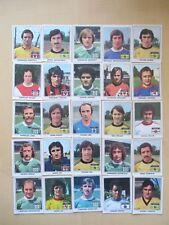 """Panini 1978 Vache Qui Rit COMPLETE set 25 """"Champions Francais du Football"""""""