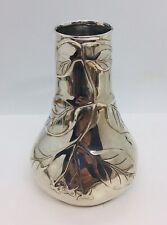 Tiffany & Co. Louis Comfort Collection Vintage Sterling Silver Leaf Vase