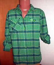 The North Face leichte Mädchen - Bluse grün-kariert  10-12 Jahre <(K1)>