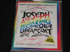 DONNY OSMOND JOSEPH AND THE AMAZING TECHNICOLOR DREAMCOAT CD SIGNED CANADA OOP