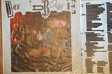 David Bowie Never Let Me Down LP 33RPM Lyric Sleeve 11 track Uk Ex