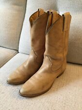 Frye USA Made Vintage Womens 5 MDistressed Leather Western Cowboy Boots