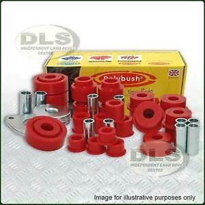 Polyurethane Bush Kit POLYBUSH Classic Red Def`94 on, Disco1, RRC`86 on (DA2220)