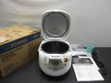 NEW ZOJIRUSHI NS-ZLH10-WZ Rice Cooker Made in Japan 5.5 go 1.0L from JAPAN FS
