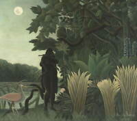 Henri Rousseau The Snake Charmer Poster Reproduction Giclee Canvas Print