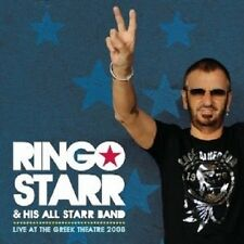 """Ringo starr """"Live at the Greek theatre 2008"""" CD NEUF"""